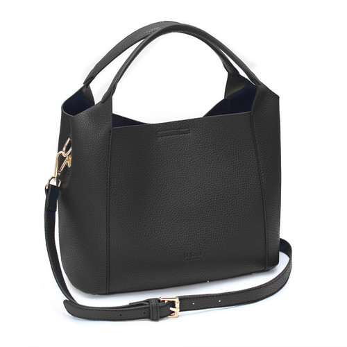 [SAINT SCOTT]FRENCH TOTE BAG - Black