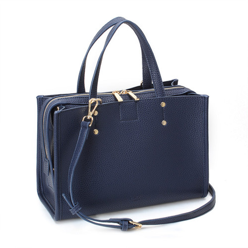 [SAINT SCOTT]EFFIE TOTE BAG - Navy