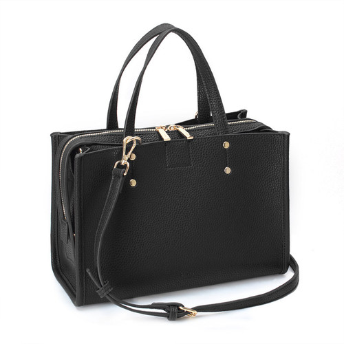 [SAINT SCOTT]EFFIE TOTE BAG - Black
