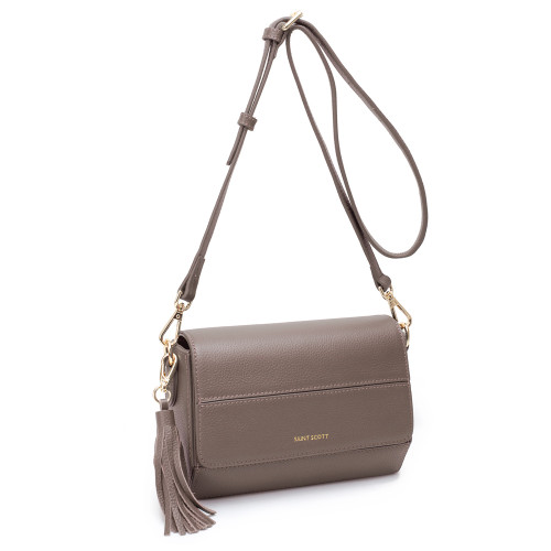 [SAINT SCOTT] Didi Mini Crossbody Bag - Grey