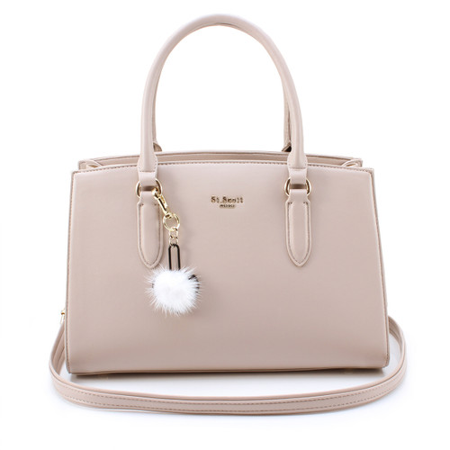 [SAINT SCOTT] Jade Tote Bag - Taupe