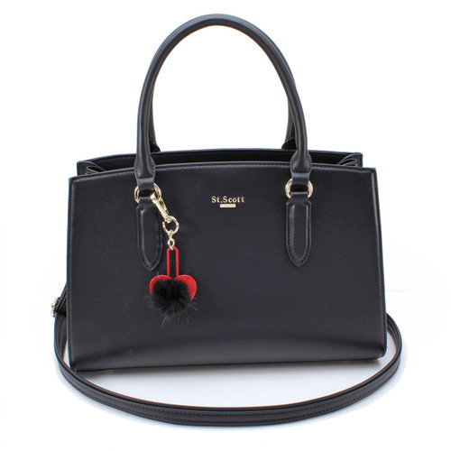 [SAINT SCOTT] Jade Tote Bag - Black