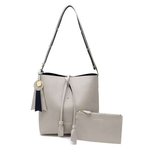 [SAINT SCOTT] Hannah Shoulder Bag - Light Grey