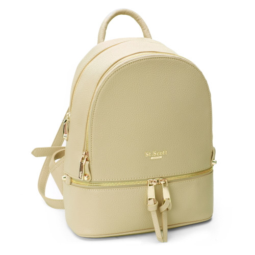 [SAINT SCOTT] Carson Backpack  - Beige
