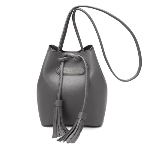 [SAINT SCOTT] Maive Bucket Bag - Dark Gray