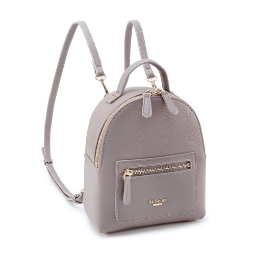 [SAINT SCOTT] Debby Mini Backpack  - Gray