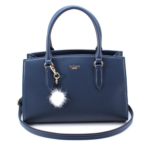 [SAINT SCOTT] Jade Tote Bag - Navy