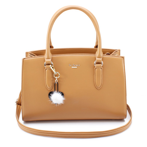 [SAINT SCOTT] Jade Tote Bag - Brown