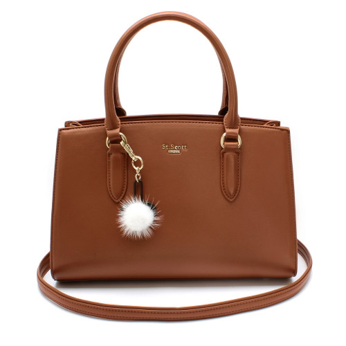 [SAINT SCOTT] Jade Tote Bag - Dark Brown