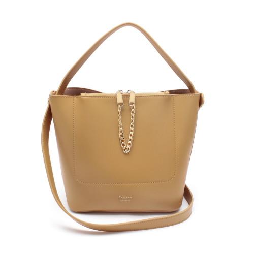 [SAINT SCOTT] Margo Shoulder Bag - Deep Beige