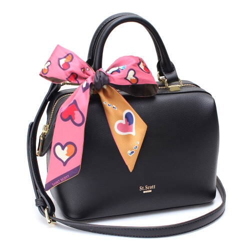 [SAINT SCOTT] Brielle Mini Doctor Bag - Black