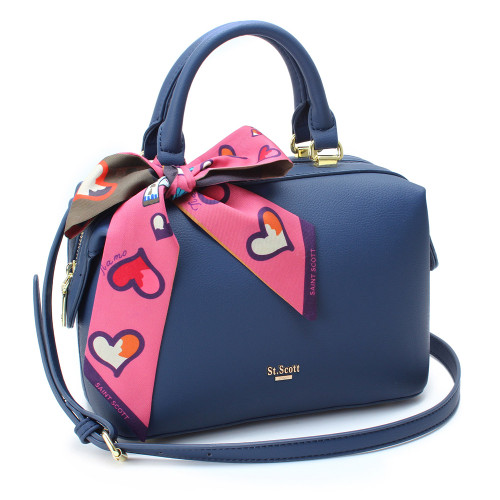 [SAINT SCOTT] Brielle Mini Doctor Bag - Navy