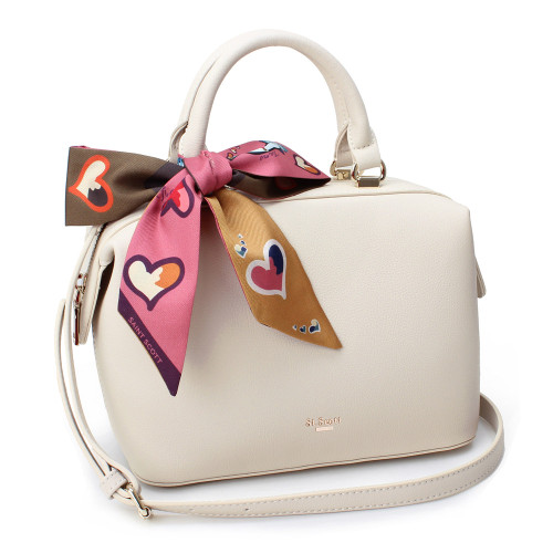 [SAINT SCOTT] Brielle Mini Doctor Bag - Cream