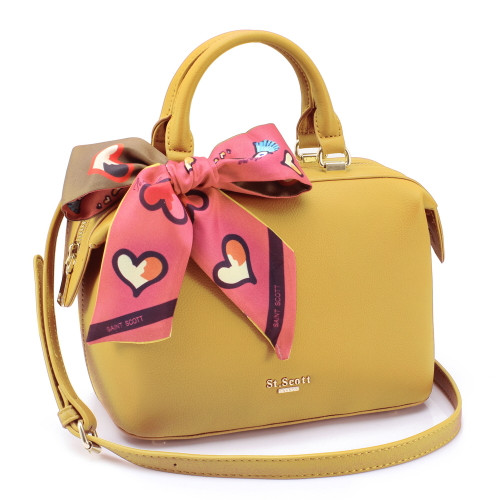 [SAINT SCOTT] Brielle Mini Doctor Bag - Mustard