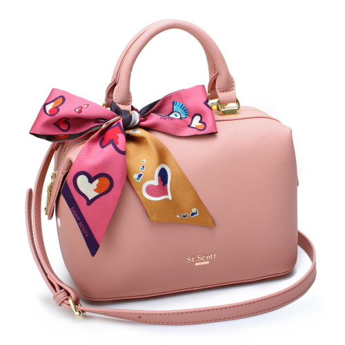 [SAINT SCOTT] Brielle Mini Doctor Bag - Blooming Pink