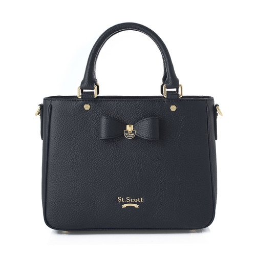 [SAINT SCOTT] Marilyn Tote - Black