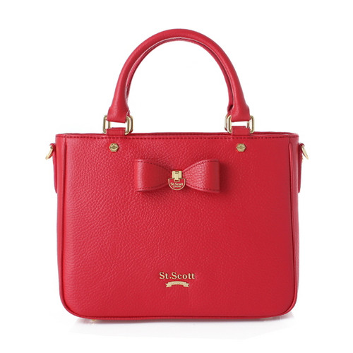 [SAINT SCOTT] Marilyn Tote - Scarlet Red