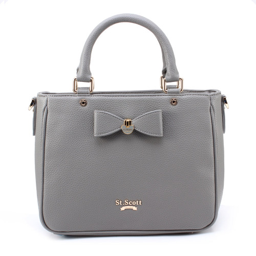 [SAINT SCOTT] Marilyn Tote - Cream Grey