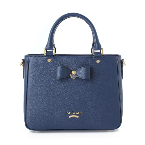 [SAINT SCOTT] Marilyn Tote - Navy Blue