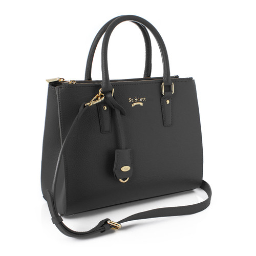 [SAINT SCOTT] Blair Tote - Black