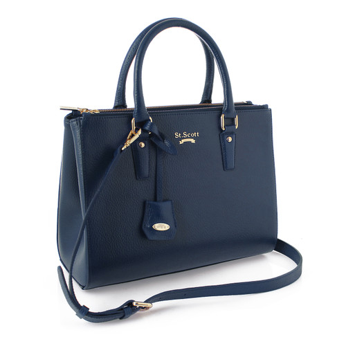 [SAINT SCOTT]Blair Tote - Navy Blue