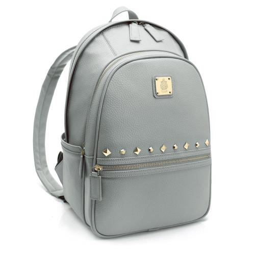 [SAINT SCOTT] Urban City Backpack - Cream Gray