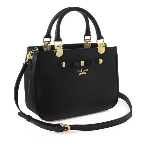 [SAINT SCOTT] Elaine Tote - Black