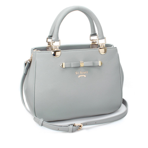 [SAINT SCOTT] Elaine Tote - Cream Grey
