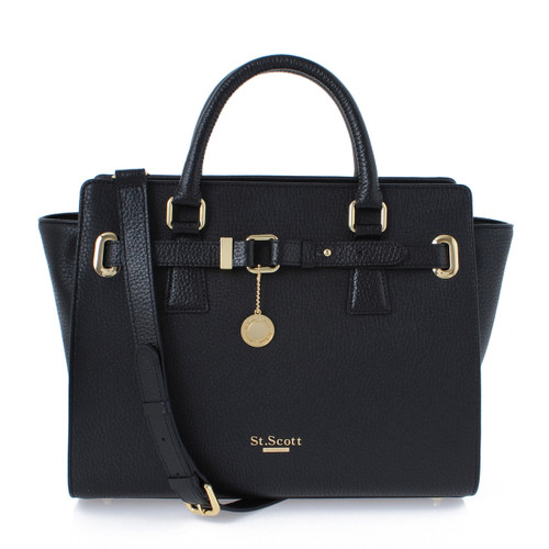 [SAINT SCOTT] Karen Tote - Black
