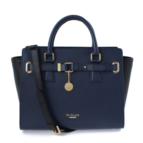 [SAINT SCOTT]Karen Tote - Navy Blue