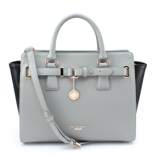 [SAINT SCOTT] Karen Tote - Cream Grey