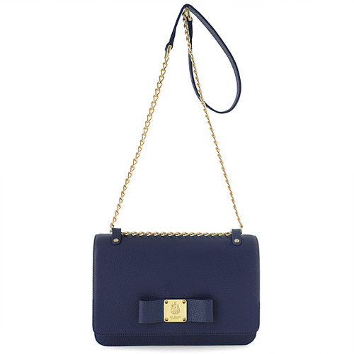 [SAINT SCOTT]Alice Mini Crossbody Bag - Navy Blue