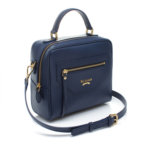 [SAINT SCOTT]Gemma Tote - Navy Blue