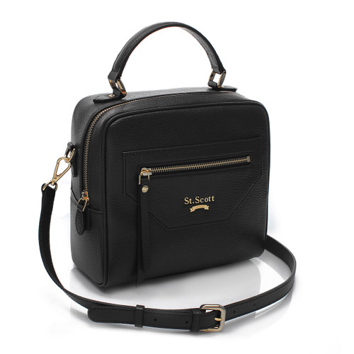 [SAINT SCOTT]Gemma Tote - Black