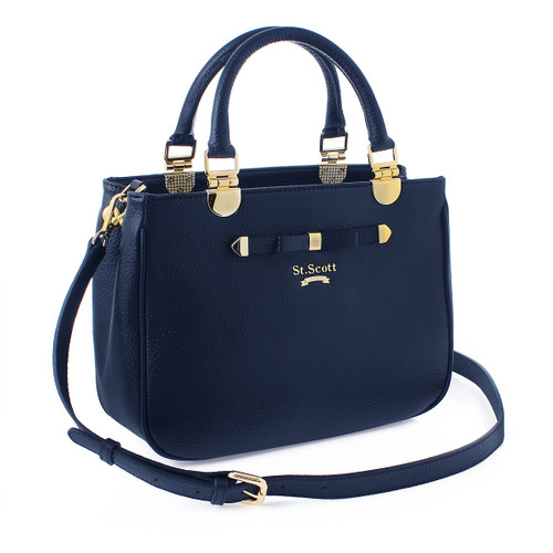 [SAINT SCOTT]Elaine Tote - Navy Blue