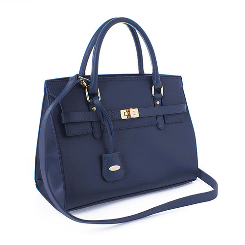 [SAINT SCOTT]Helen Tote - Navy Blue