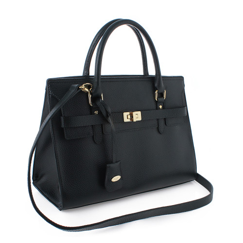 [SAINT SCOTT]Helen Tote - Black