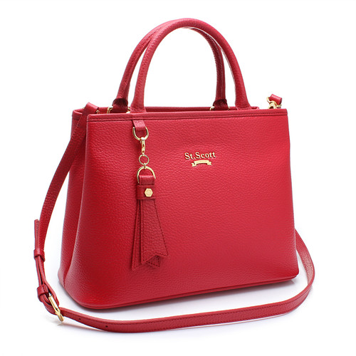 [SAINT SCOTT]Mag Tote bag - Scarlet Red