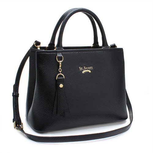 [SAINT SCOTT]Mag Tote bag - Black