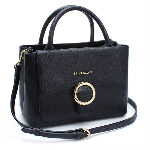 [SAINT SCOTT]Regina Tote Bag - Black