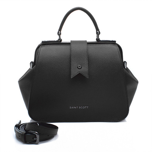 [SAINT SCOTT]Layla Doctor Bag - Black