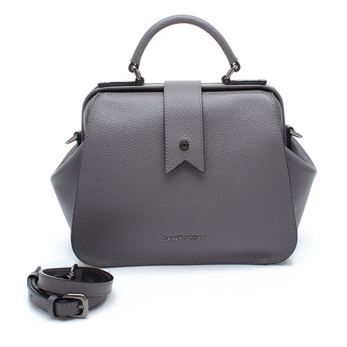 [SAINT SCOTT]Layla Doctor Bag - Sharkskin Grey