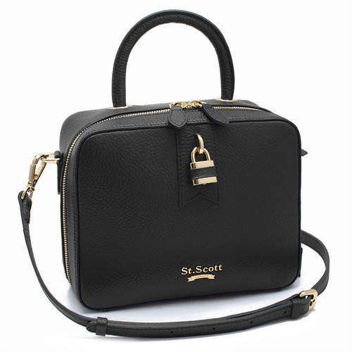 [SAINT SCOTT]Penny Tote Bag - Black