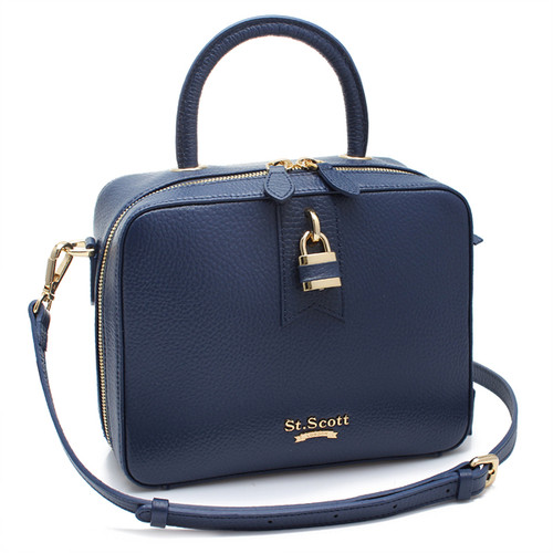 [SAINT SCOTT]Penny Tote Bag - Navy Blue