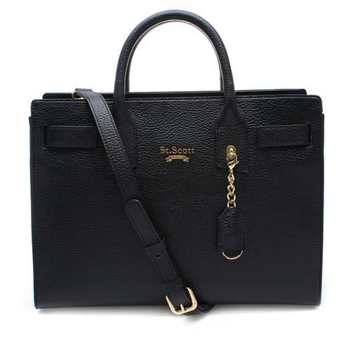 [SAINT SCOTT]Venny Tote Bag - Black