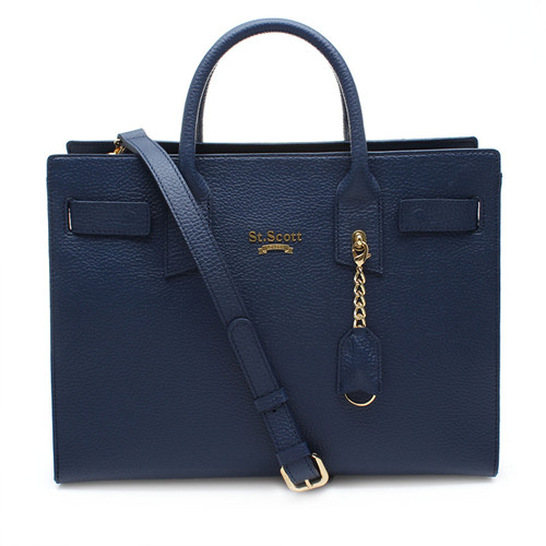 [SAINT SCOTT]Venny Tote Bag - Navy Blue
