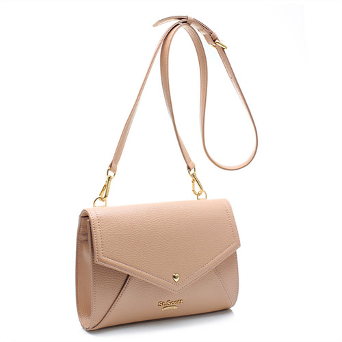 [SAINT SCOTT] Love Letter Cross Bag - Smoky Rose