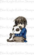 Child with Panda