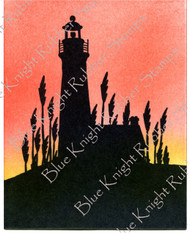 Lighthouse Silhouette