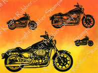Multiple Motorcycles